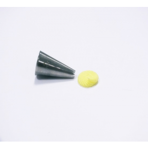 Jem Piping Nozzle - Fine Tooth Open Star Tube - No. 362