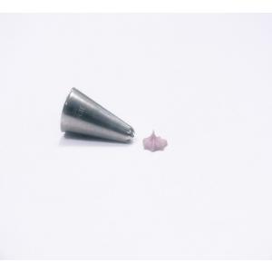 Jem Piping Nozzle - Closed Star Tube - No. 27