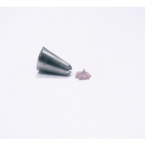 Jem Piping Nozzle - Closed Star Tube - No. 30