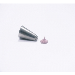Jem Piping Nozzle - Closed Star Tube - No. 31