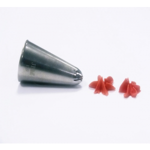 Jem Piping Nozzle - Drop Flower Tube Small - No. 129