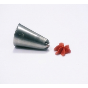 Jem Piping Nozzle - Drop Flower Tube Small - No. 131