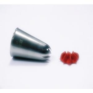 Jem Piping Nozzle - Drop Flower Tube Large - No. 1E