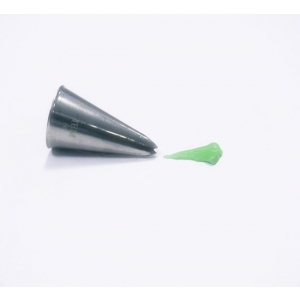 Jem Piping Nozzle - Leaf Tube - No. 66