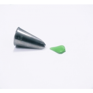 Jem Piping Nozzle - Leaf Tube - No. 68