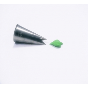 Jem Piping Nozzle - Leaf Tube - No. 352