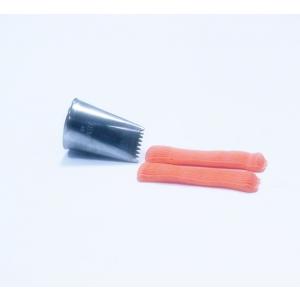 Jem Piping Nozzle - Basketweave Tube Ribbed - No. 48