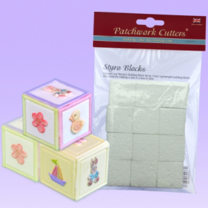 Patchwork Cutters - Styro Blocks (Pack of 12)