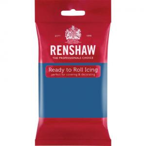 Renshaw Decor-Ice Ready To Roll Icing - Atlantic Blue (250g)