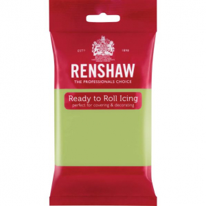 Renshaw Ready To Roll Icing - Pastel Green - 250g