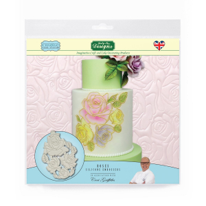 Katy Sue Designs Silicone Embossers - Roses