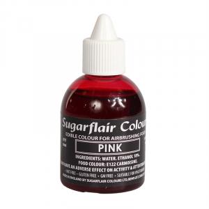 Sugarflair Airbrush Colour - Pink - 60ml