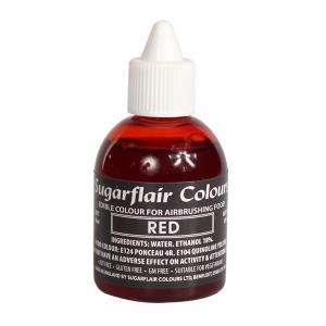 Sugarflair Airbrush Colour - Red - 60ml
