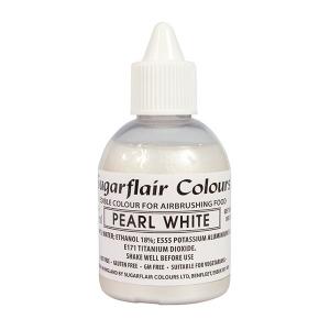 Sugarflair Airbrush Colour - Pearl White - 60ml