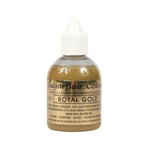 Sugarflair Airbrush Colour - Royal Gold - 60ml