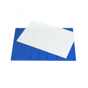 PME Veined Rolling Out Board - Blue (250mm x 170mm)