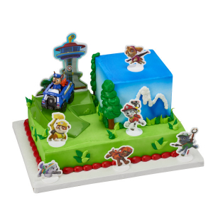 DecoPac Decoration - PAW Patrol™ - Chase To The Rescue Signature DecoSet