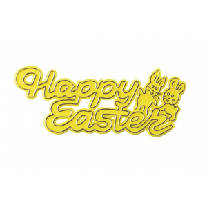 Culpitt Decoration / Motto - Happy Easter (Pack of 50)