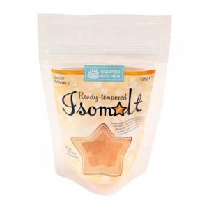 Squires Kitchen Isomalt Ready-Tempered - Gold Sparkle (125g)