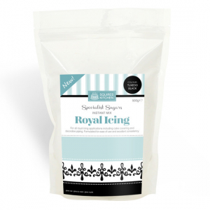 Squires Kitchen Royal Icing - Tuxedo Black - 500g