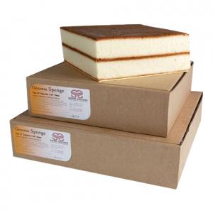 Sweet Success Vanilla Genoese Cake - Square