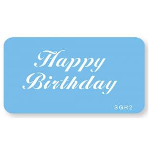 Jem Stencil - Happy Birthday