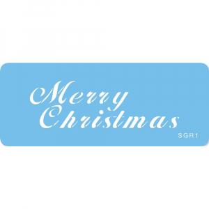 Jem Stencil - Merry Christmas
