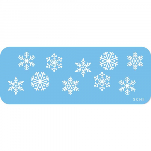 Jem Stencil - Snowflakes