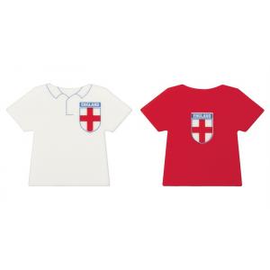 Culpitt Printed Sugar Plaques - England Football Shirts (Box of 160)