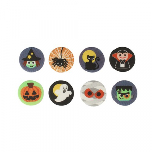 Culpitt Printed Sugarettes - Spooky Halloween (Box of 256)