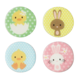 Culpitt Printed Sugarettes - Bunny & Chick (Box of 405)