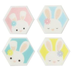 Culpitt Printed Sugarettes - Cute Bunnies (Box of 450)