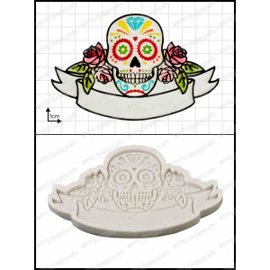 FPC Mould - Sugar Skull / Day Of The Dead