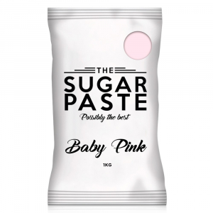 The Sugar Paste - Baby Pink (1kg)