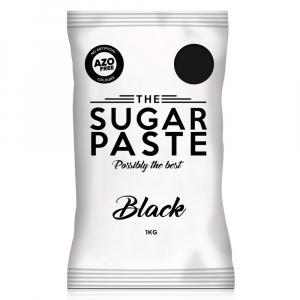 The Sugar Paste - Black (1kg)