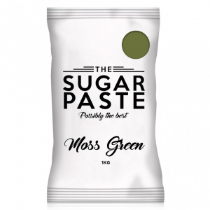 The Sugar Paste - Moss Green (1kg)