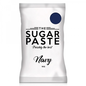 The Sugar Paste - Navy (1kg)
