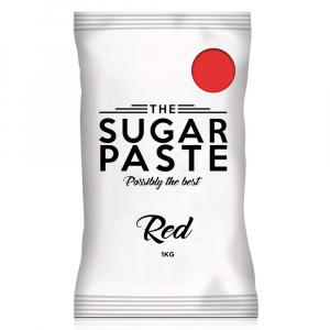 The Sugar Paste - Red (1kg)