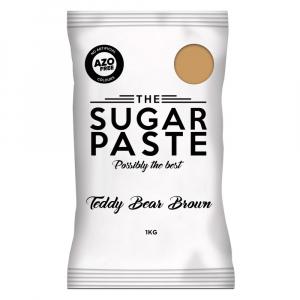 The Sugar Paste - Teddy Bear Brown (1kg)