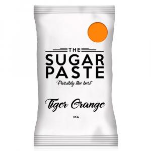 The Sugar Paste - Tiger Orange (1kg)