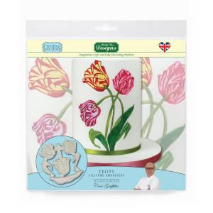Katy Sue Designs Silicone Embossers - Tulips