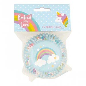 Baked With Love Premium Foil Baking Cases - Unicorn (Pack of 25)