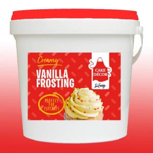 Cake Décor Pro Ready-to-use Frosting - Creamy Vanilla (1.5kg)