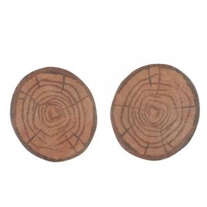 Culpitt Wafer Decorations - Log Ends (Pack of 50)