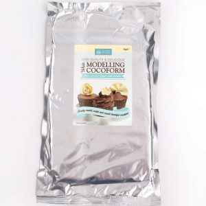 Squires Kitchen Cocoform - Chocolate Modelling Paste - White (1kg)