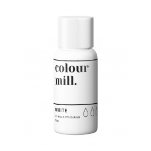 Colour Mill Oil Based Colouring - White (20ml)