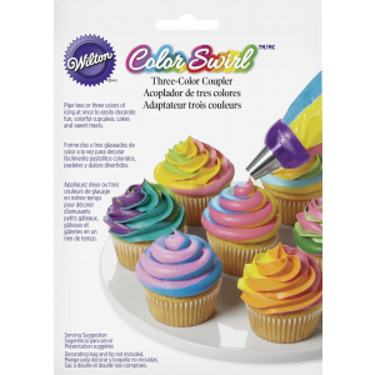 Wilton Colour Swirl - Three Colour Coupler