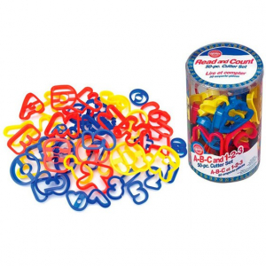 Wilton A-B-C and 1-2-3 Cookie Cutters