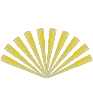 Yellow Flower Picks Micro - Pack of 10