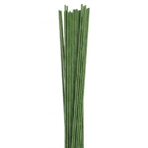 Culpitt Floral Wires #24 Gauge - Dark Green (Pack of 50)